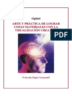 Ophiel - Arte Y Práctica de Lograr Cosas Materiales Con Visualización Creativa