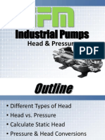Industrial Pumps - Head & Pressure