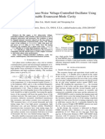 Design of Low Phase-Noise Voltage-Controlled Oscillator Using Tunable Evanescent-Mode Cavity