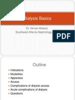 Dialysis Basics