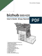 420_500 Copier Bizhub