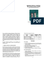 Medidas para el control de la polilla de la papa (Tecia solanivora)