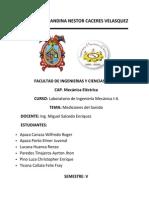 Informe Mediciones de Sonido (GRUPO v)