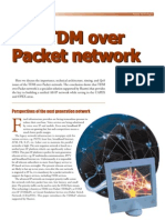 TDM Over Packet Network