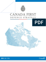 CANADA FIRST DEFENCE STRATEGY 2008