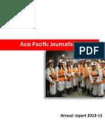 APJC Annual Report 2012-13