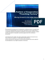 """Ppt Nur Rohman Arif _ the Pattern of Cooperation """"Teaching Factory"""""""