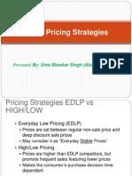 UNIT-3 Retail Pricing Strategies 8