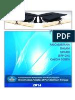 Panduan Beasiswa Calon Dosen BPP-DN