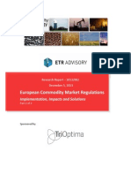 European Commodity Market Regulations Part 2