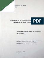 El Problema de la Contaminacion en Santiago, 1960 - 1972
