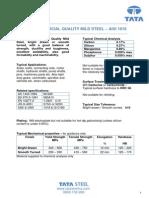 1018 Mechanical Properties