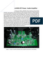 AEM6000 Lateral MOS-FET Power Audio Amplifier