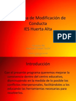 Programa de Modificacin de Conducta