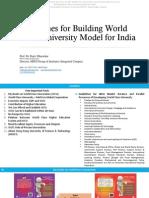 Model for World Class University 052