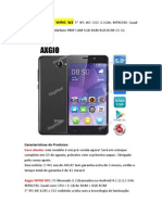 Axgio Wing w2 5 Ips Hd Ogs Mtk6582 Neonado 1.0 Os 3g Telefone-tinydeal
