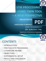 Friction Stir Welding Ppt on Fsp Using Twin Tool.pptx