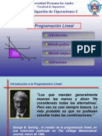 Introduccion a La Programacion Lineal