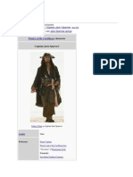 Jack Sparrow English