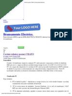 Cerinte Tehnice Posturi TRAFO _ Bransamente Electrice