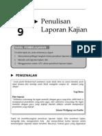 Topik9 - PenulisanLaporanKajian