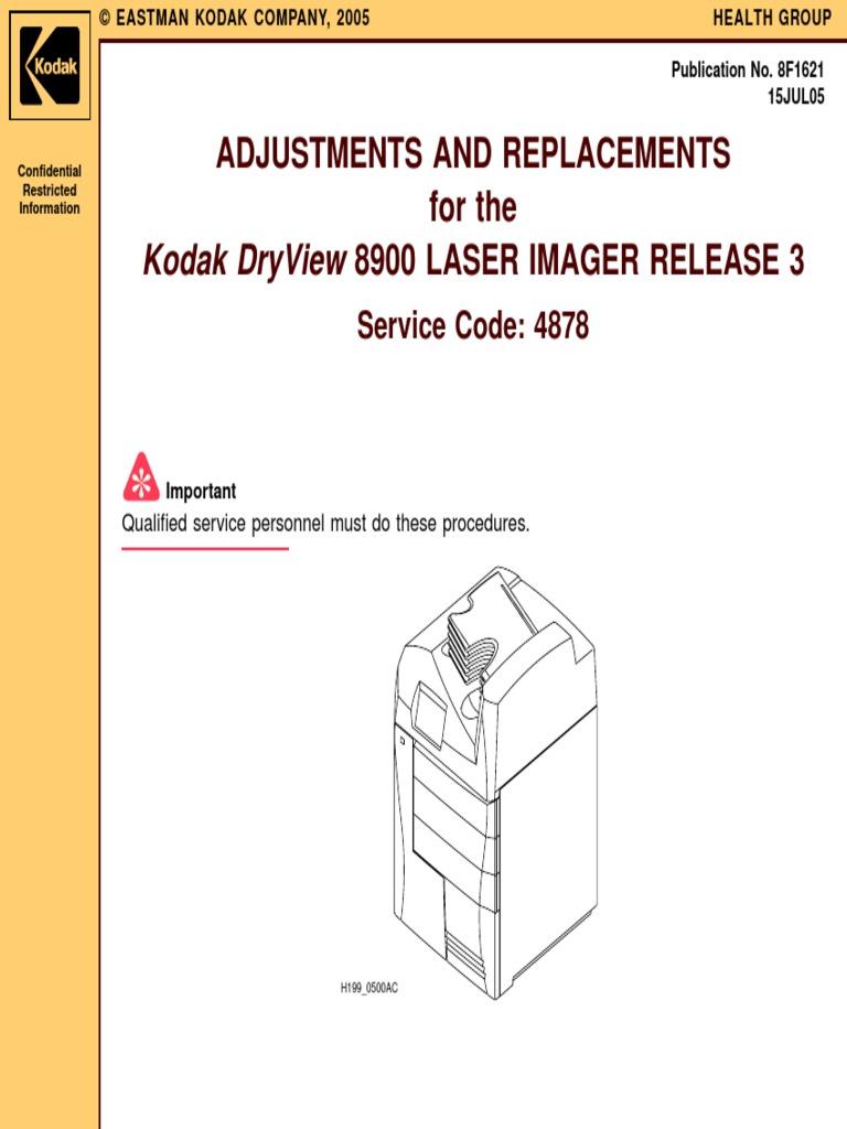 kodak impresora placas dryview 8900 r3 service manual touchscreen rh scribd com