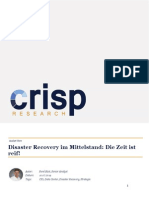 Disaster Recovery im Mittelstand