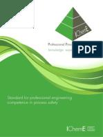 PPSE Standard for IChemE