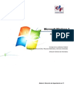 Microsoft Windows 7 Manual