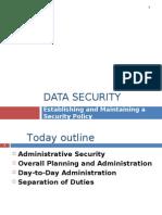 Data security l2