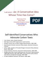 Marlo Lewis Slide Show Carbon Tax