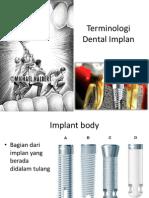 Terminologi Dental Implan