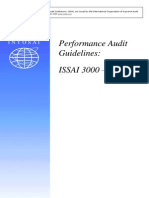 Performance Audit Guidelines E