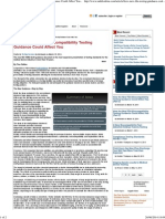 How the New FDA Biocompatibility Testing Guidance