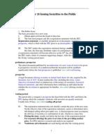 Summary - IPO