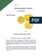 Propiedades y Peligros Del Limon