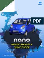 Tata Nano Owner's Manual