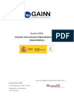 2014-ENISA Creación, GAINN