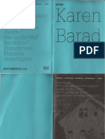 Karen Barad, What Is the Measure of Nothingness