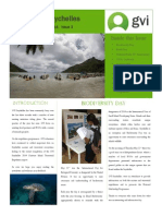 GVI Seychelles Newsletter Issue 3 June 2014