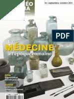 Archéo Théma n° 16 - Médecine