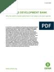The BRICS Development Bank