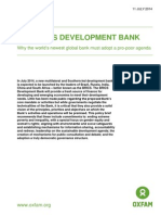 The BRICS Development Bank