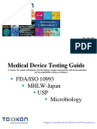 Medical Device Testing Guide