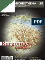 Archéo Théma n° 25 - Burgondes