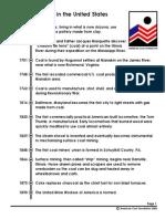 Coal Timeline