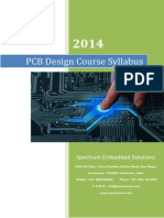 PCB Design Course Syllabus