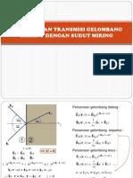 Refleksi Dan Transmisi Gelombang (2)