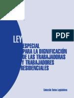 Ley de Trabajadores Residencia