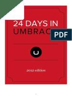 24 Days in Umbraco 2012